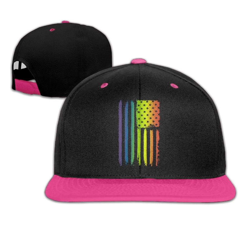 LGBT Gay Pride Love You Sign Language Cute Unisex Washed Cap Adjustable Dads Denim Stetson Hat
