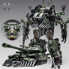 COMIC CLUB weijiang Transformation Brawl Camouflage Oversize SS Leader Alloy M1A1 Tank Mode KO Action Figure Robot Toys