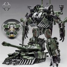コミッククラブ weijiang 変換乱闘迷彩特大 SS リーダー合金 M1A1 タンクモード KO アクションフィギュアロボットのおもちゃ