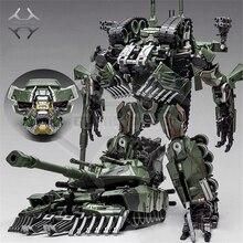 קומיקס מועדון weijiang שינוי קטטה הסוואה ענקיות SS מנהיג סגסוגת M1A1 טנק מצב KO פעולה איור רובוט צעצועים