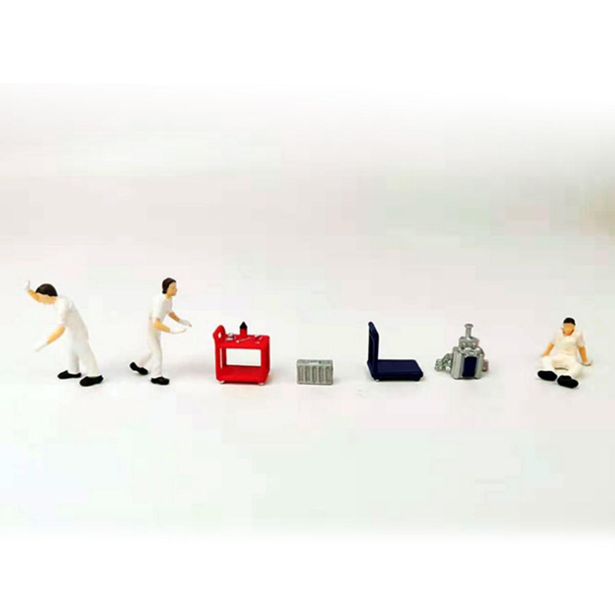 1:64 Repair Depot Auto Repairman Model Figure Scenario Models Kit Scene