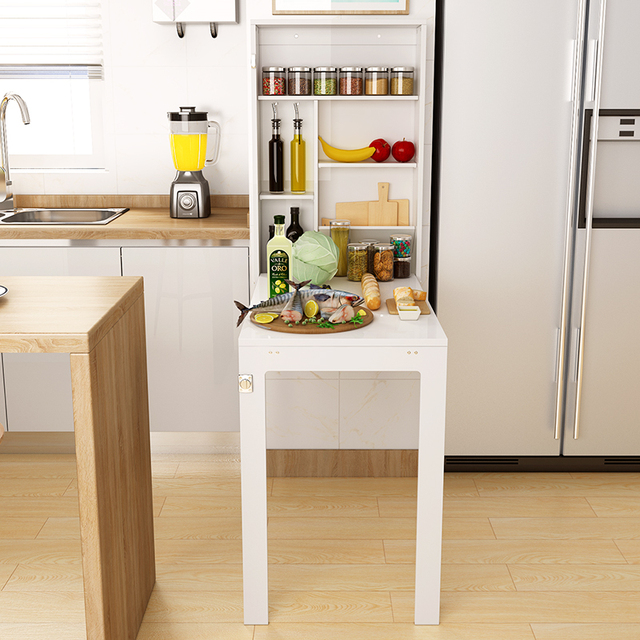 Best Offer 35a68 Wall Hanging Small Table Foldable Table Wall Hanging Table Wall Hanging Wall Kitchen Table Wall Against Wall Narrow Table Cicig Co