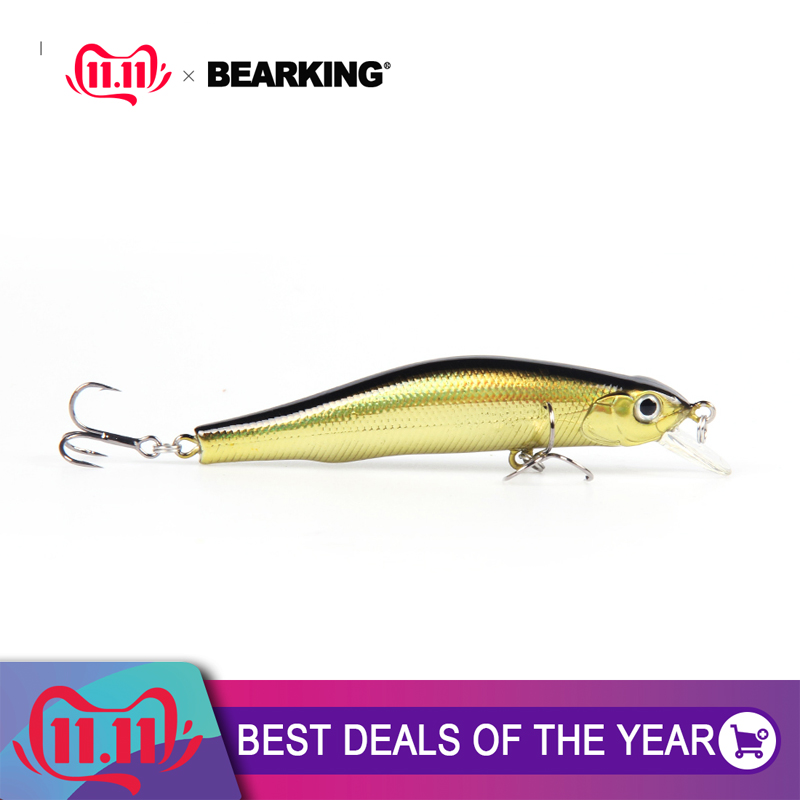 1pc 8cm//8.5g hard minnow fishing lures crank plastic baits floating lures 3#ZP