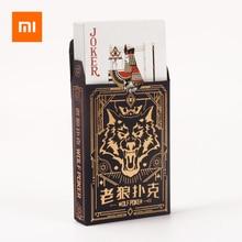 Xiaomiトランプポーカーボードゲーム狼キルゲームトランプ防水カード3 10人パーティー収集ゲームカード