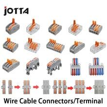 Conector de cable PCT-212, Terminal Universal 213, 214, 215, 218, SPL-2, 3, 0,08-2,5mm, terminales eléctricos Push-in para conexión de cable