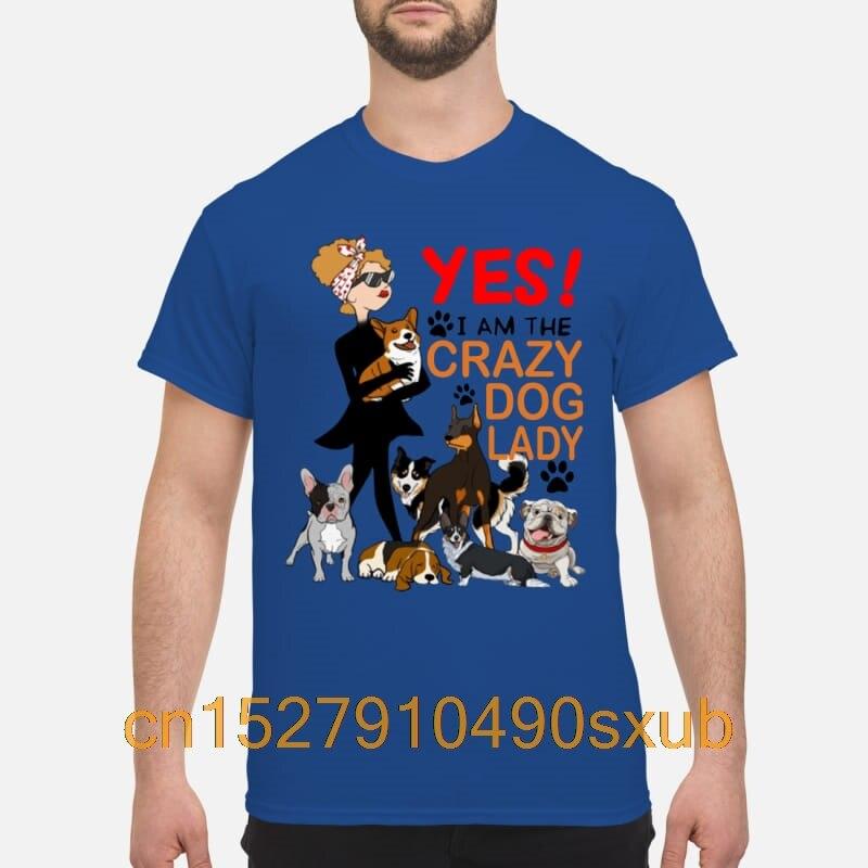 Hot fashion sports shirt Yes! I'm A Crazy Dog Lady kid tshirt
