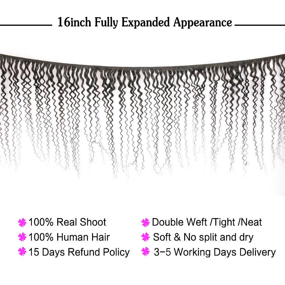 Mechones de cabello de onda de agua Nafun con cierre mechones de onda de cabello humano con cierre extensión de cabello humano peruano no Remy