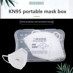 Пластиковая коробка для хранения маски, Женский органайзер для колец и ювелирных изделий, многофункциональная коробка для хранения карт, Д...