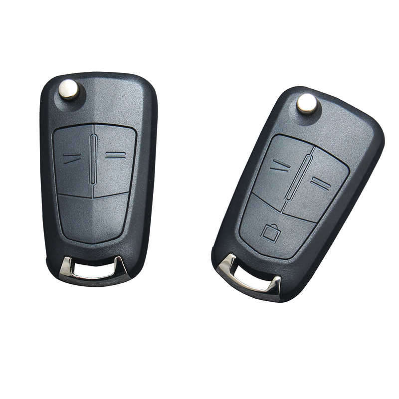 Ysdsjj Remote Lipat Mobil Kunci Cover Fob Case Shell untuk Vauxhall Opel Astra H Corsa D Vectra C Zafira astra Vectra Signum