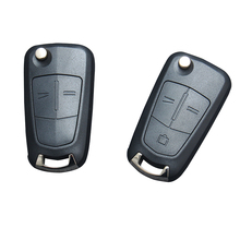 цена на ysdsjj Flip Remote Folding Car Key Cover Fob Case Shell For Vauxhall Opel Astra H Corsa D Vectra C Zafira Astra Vectra Signum