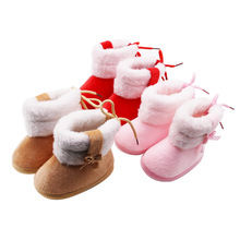 Baby Shoes Winter Infants Baby Girl Boots Fashion Cotton Boots Casual First Walkers Boot Non-slip Soft Sole Shoes Fit 0-18M