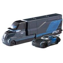 Jouets en alliage de métal moulé pour enfants, voitures Disney Pixar Jackson Storm Lightning McQueen camion Mater Ramirez 1:55 cadeau