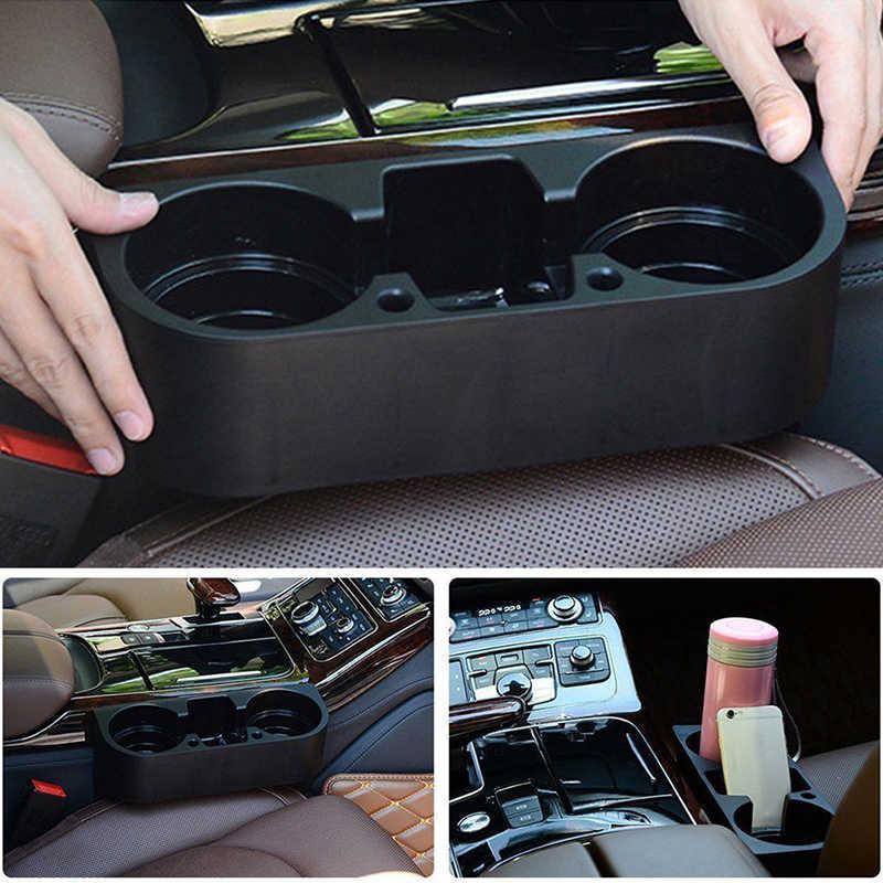 1 × 車のスタイリングのための E36 E46 E60 E70 E40 E90 F30 F10 1 3 5 7 シリーズのカーシートシームウェッジカップボックスホルダーオーガナイザー