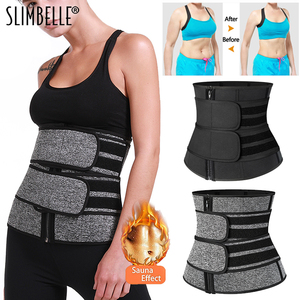Image 1 - Waist Corset Trainer Sauna Sweat Sport Girdles Cintas Modeladora Women Lumbar Shaper Workout Trimmer Shapewear Slimming Belt