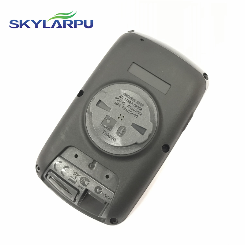Skylarpu (Black)Rear Cover For GARMIN EDGE 810 Bicycle Speed Meter Back Cover Repair Replacement Free Shipping