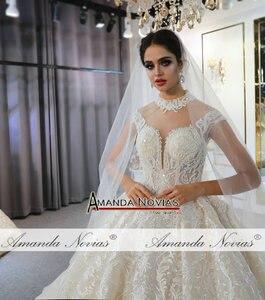 Image 2 - robes de mariée wedding dress princess custom made wedding dress real work 100% high quality