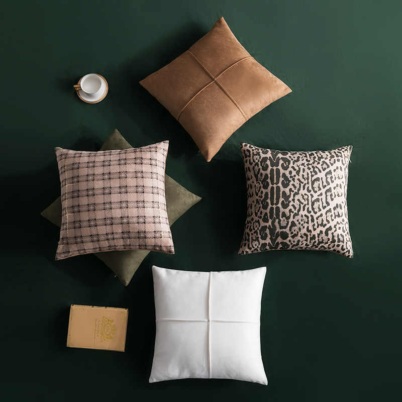 Suede Three Dimensional Cushion Cover Modern Ins Hold Pillow Nordic Style Home Decoration Sofa Bedside Lattice Pillow Case Cushion Cover Aliexpress