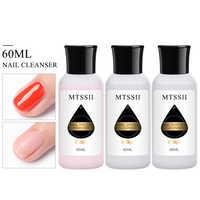 Mtssii 60ml Nail Art Acrylic Liquid Gel Nail Remover Acrylic Cleaner Soak Off UV Gel Remover Manicure Nail Art Gel Nail Tools