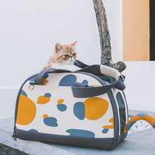 Cat Cage  Pet Outdoor Travel Backpack Dog Kandang Kucing Foldable Exercise Play Indoor Slings Fashion Windproof