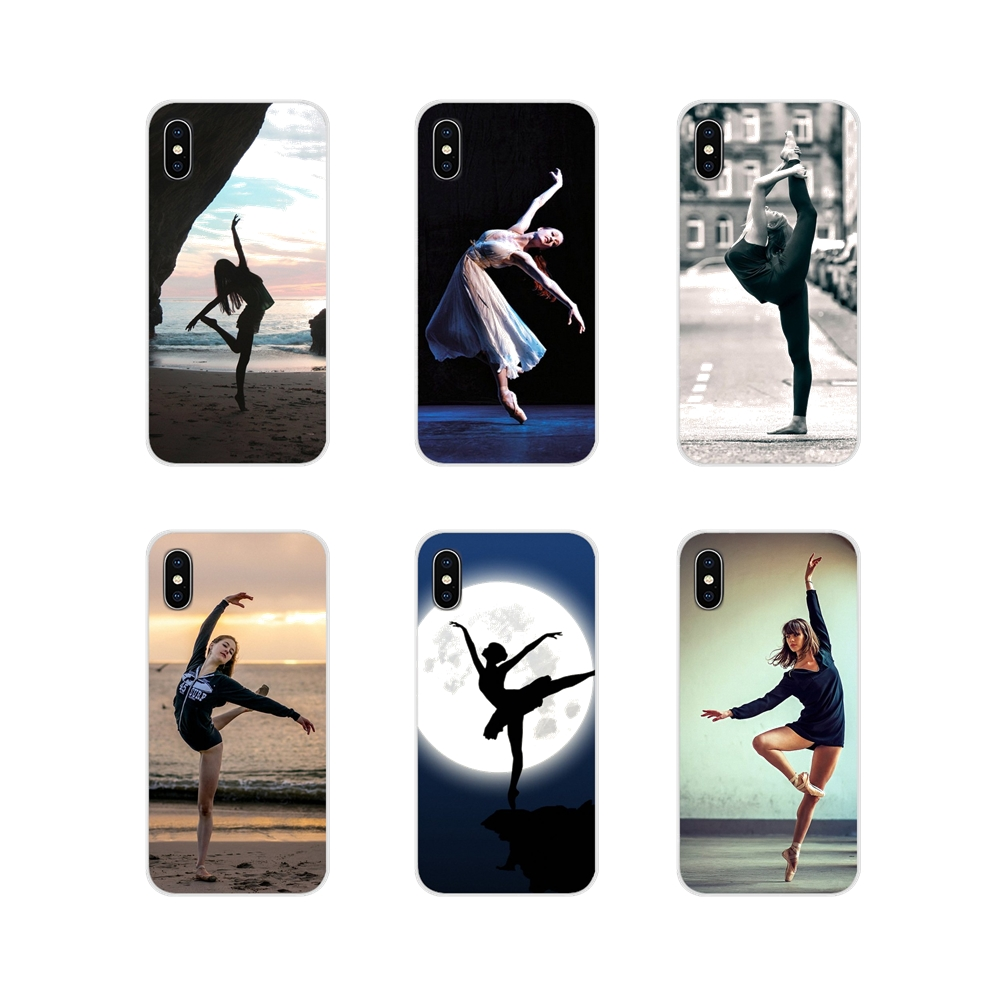 TPU Case Covers For Samsung <font><b>Galaxy</b></font> S3 <font><b>S4</b></font> S5 <font><b>Mini</b></font> S6 S7 Edge S8 S9 S10 Lite Plus Note 4 5 8 9 <font><b>Sexy</b></font> Ballet Dancing Girls Ballerina image