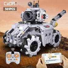 Cada cidade militar aplicativo técnico de controle remoto tanque elétrico blocos de construção criador moc off-road rc carro de corrida tijolos brinquedos