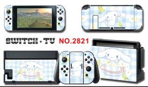 Image 5 - Adesivo Skin per schermo in vinile adesivi protettivi per pelli di cane alloro per Nintendo Switch NS Console + Controller + adesivo per supporto