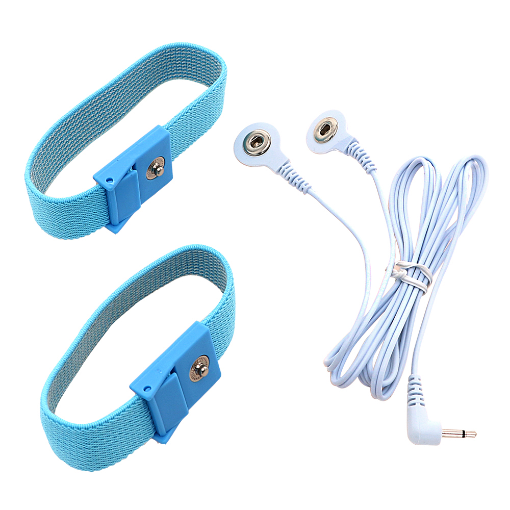 IKOKY Electric Shock Cock Rings 2 Pieces Penis Stimulator Penis Extender Medical Themed Toys Sex Toys For Men