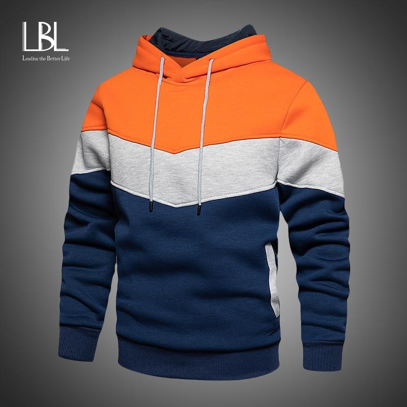 Herren Fleece Hoodies 2020 Herbst Winter Mit Kapuze Streetwear Sweatshirt Mode Hoodie Lässige hip hop Sweatshirt Neue Männer Trainingsanzug
