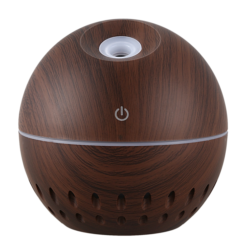 130Ml Usb Mini Air Humidifier Electric Aroma Diffuser Aromatherapy Essential Oil Cool Mist Maker 7 Color Light
