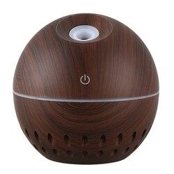 130Ml Usb mininawilżacz powietrza elektryczny rozpylacz zapachów olejku aromaterapeutycznego generator chłodnej mgiełki 7 kolor światła w Nawilżacze powietrza od AGD na
