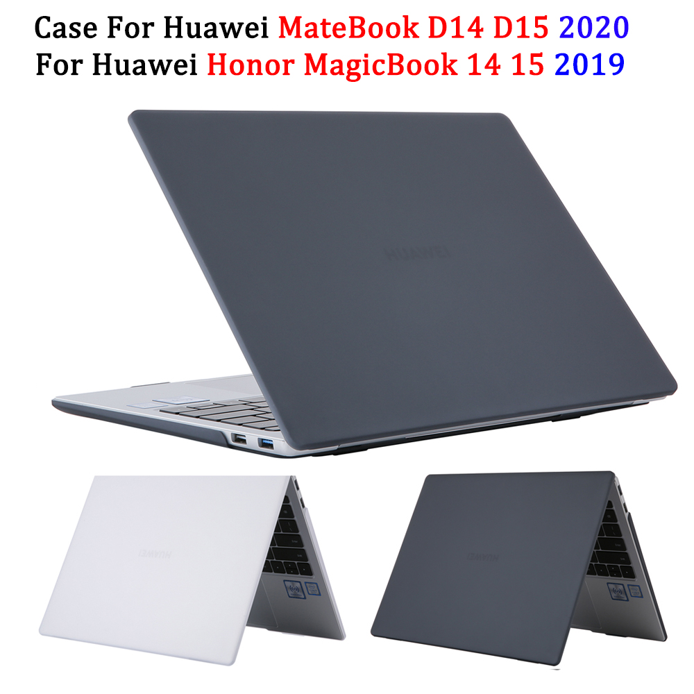Case For Huawei MateBook X Pro 13 14 Inch D 14 D 15 2020 Laptop Case For Huawei Honor MagicBook 14 15 2019 Cover Crystal Case