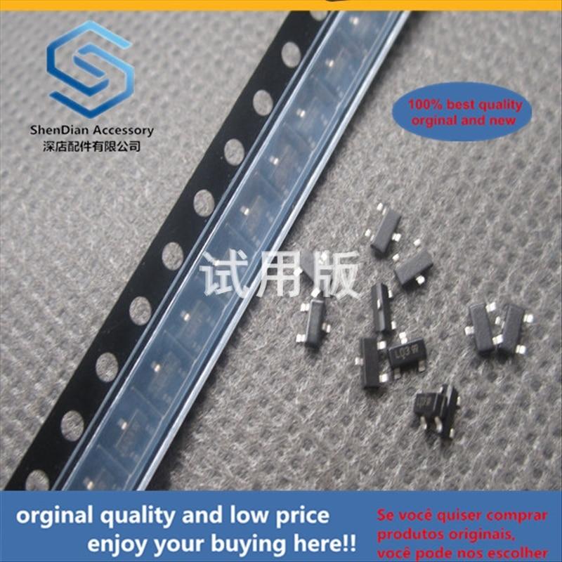 50pcs 100% Orginal New Best Quality SMD Diode L BAT54SLT1G BAT54S LD3 SOT-23 30V 0.2A Schottky Diode