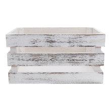Support de stockage Durable, 1 pièce, bac de rangement empilable, décoration en bois, boîte de rangement pour la maison (caisse)