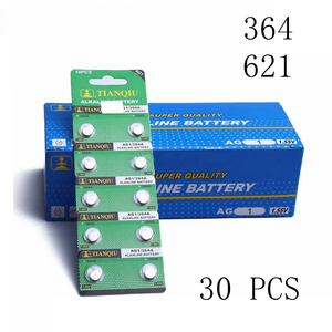 30 PCS 621 Watch Battery AG1 L