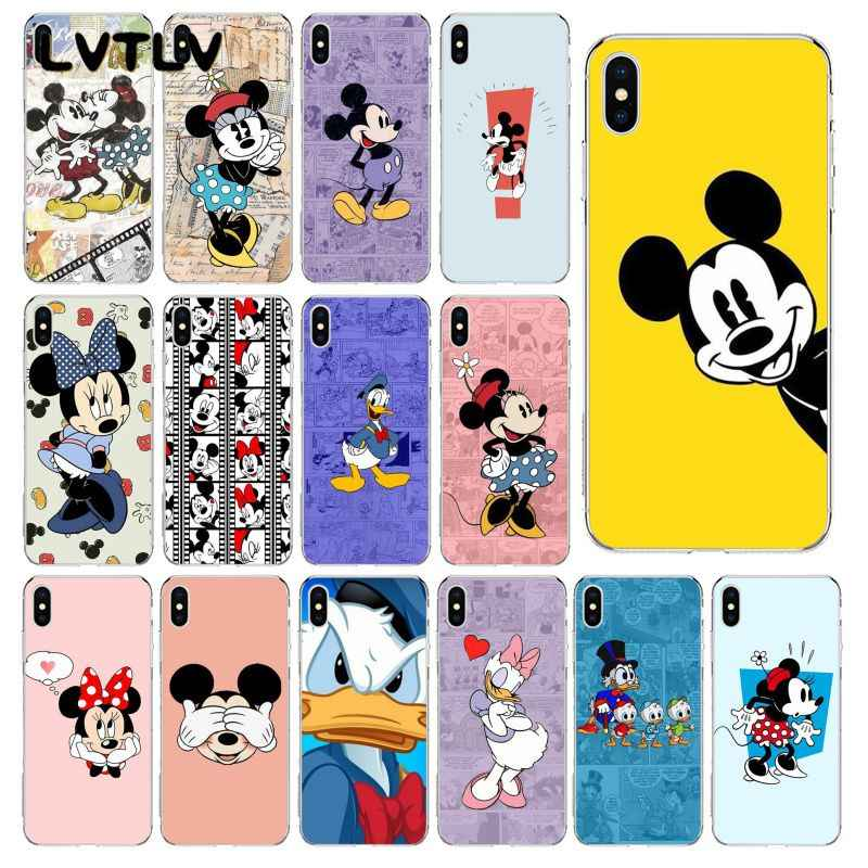 Lvtlv Mickey Mouse Minnie Mouse Donald Duck Custom Photo Soft Phone Case For Iphone 11 Pro Xs Max 8 7 6 6s Plus X 5 5s Se Xr Aliexpress