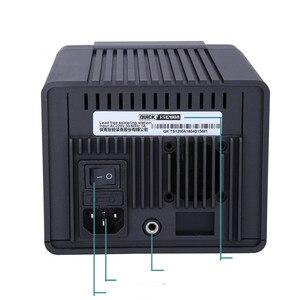 Image 3 - מהיר TS1200A אינטליגנטי אוויר חם עיבוד חוזר תחנת עבור טלפון PCB הלחמה תיקון