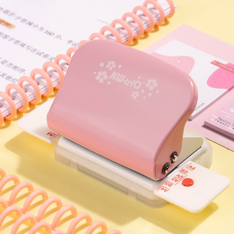 A4(30 Holes)b5(26 Holes)a5(20 Holes) Hole Puncher Loose Leaf Hole Punch Handmade Loose-leaf Paper Hole Puncher Stationery Office