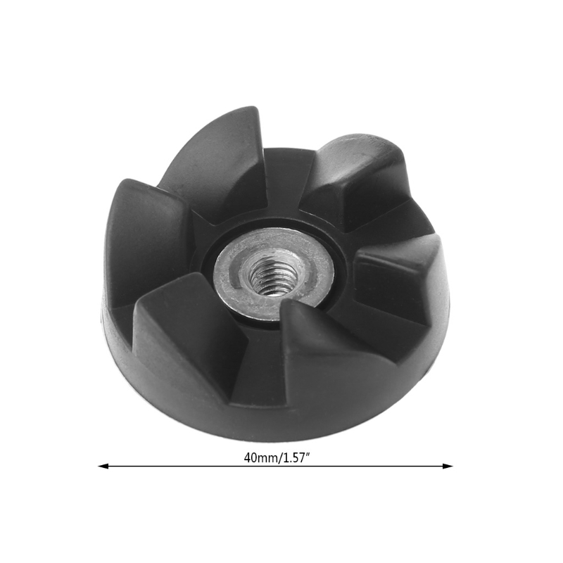 4 Replacement Parts Rubber Gear Spare Part for Magic Bullet Cross//Flat blade