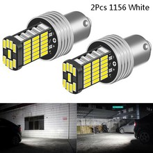 2x 1156led canbus 15 smd ba15s p21w alta potência branco 6000k freio do carro luz da cauda