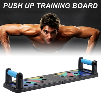Push Up Rack Board 11-in-1 Bracket Full Body Building Fitness Exercise Push-up Stands Training System Workout Home Equipment New 2