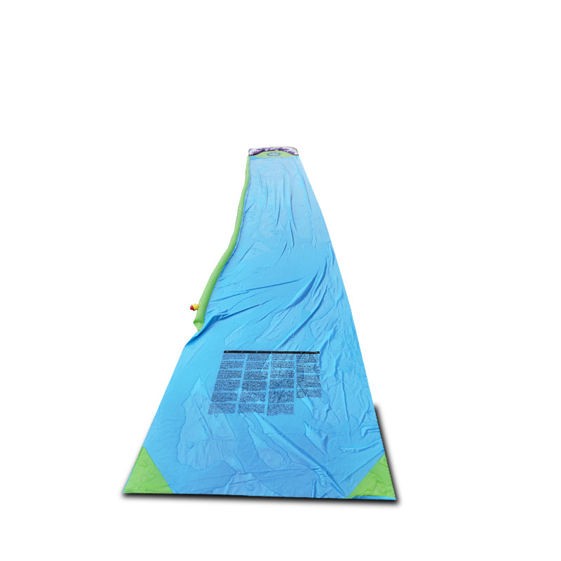 Купить с кэшбэком 474cm Single Water Slide Water Spray Carpet Glide Children pool toys Garden Grass Waterskiing Entertainment Summer Kid Gift
