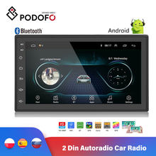 "Podofo Universal Android 2 Din Autoradio Car Radio 7"" 2 din Multimedia Player GPS MP5 Player GPS NAVIGATION WIFI Bluetooth(Hong Kong,China)"