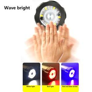 Image 4 - Chiến Thuật Đèn Pin CREE XHP70.2 Sạc Dài Bắn 4200 Lumens 8000 MAh Pin Lithium Dung Lượng Lớn Mạnh Đèn Pin LED