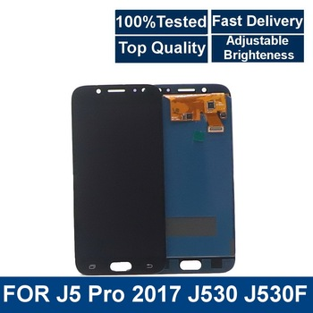 5.2''LCD Screen For Samsung Galaxy J5 Pro 2017 J530 J530F SM-J530F J530M LCD Display Touch Screen Digitizer Adjustable Brightnes 1