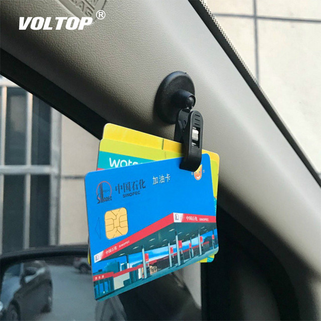 1 Pair Car Interior Window Clip Mount Black Suction Cap Clip Plastic Sucker Removable Holder For Sunshade Curtain Towel Ticket