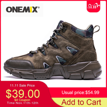 Hiking-Shoes ONEMIX Tactical-Boots Fishing Outdoor-Climbing Waterproof High-Top Military