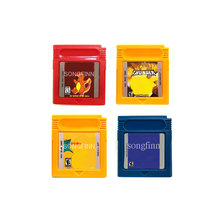 Orange Blue Full Color Red Full Color Thunder Yellow Memory Cartridge Card for 16 Bit Console