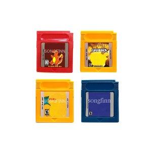 Image 1 - Tarjeta de cartucho de memoria para consola de 16 bits, Color azul o naranja, rojo, a todo Color, amarillo Trueno