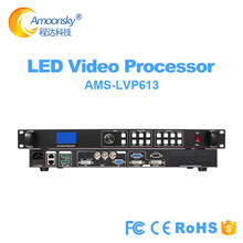 Free shipping  LED video processor lvp613 scaler HD TV SDI HDMI VGA DVI USB WIFI controller parts for led screen