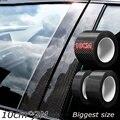 Nano Carbon Faser Auto Aufkleber DIY Paste Protector Streifen Auto Einstiegs Seite Spiegel Anti Scratch Band Wasserdichte Schutz Film